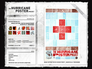 Hurricane poster project
