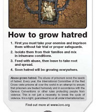 How to grow hatred