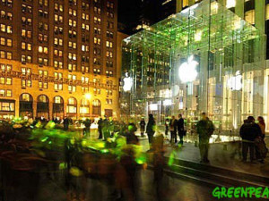 All we want from Steve Jobs is a green Apple