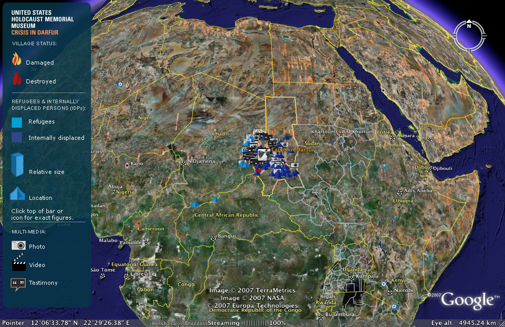 Google earth maps crisis in darfur osocio google earth darfur 1gr gumiabroncs Images