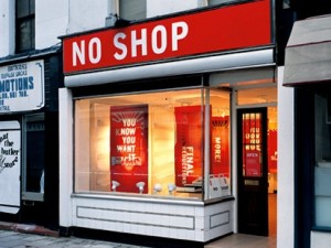 No Shop by Thomas Matthews