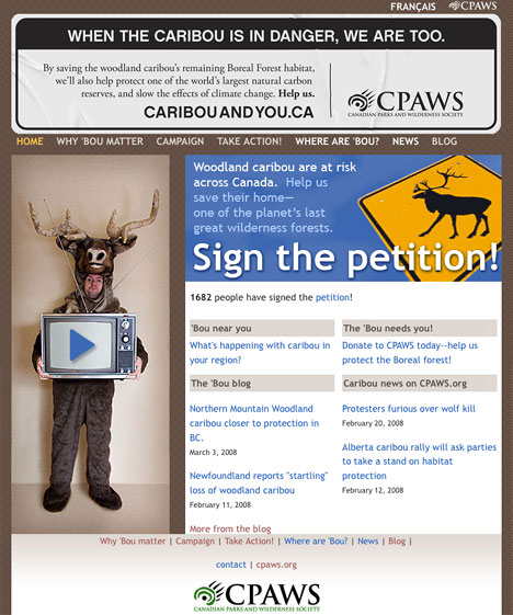 caribou-and-you-website
