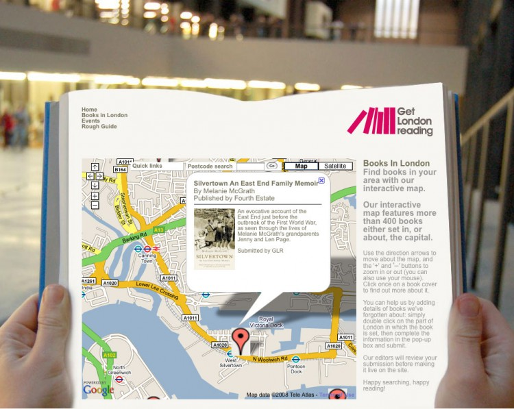 Get-London-Reading-map