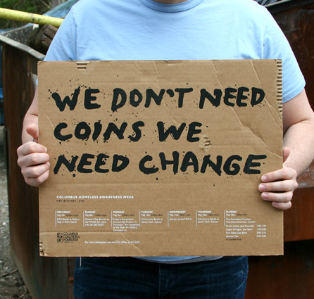 We Don't Need Coins, We Need Change