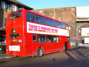 Atheist Bus Campaign (UK) reached funds in 10 hours