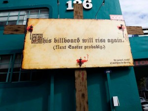 This billboard will rise again