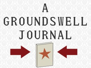 Activist Storytelling: Groundswell hits the presses!