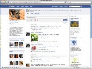 Dogs for adoption with a Facebook profile