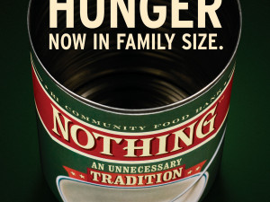 How can an empty can feed so many