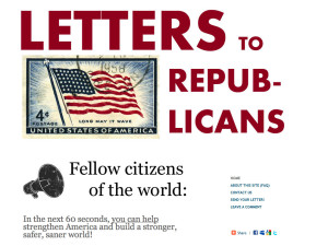 Letters to Republicans