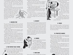 10 Things Every Bloke Should Know
