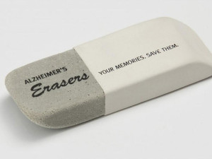 Campaign of the Month July: Alzheimer's Erasers & Dispensing Dirty Water