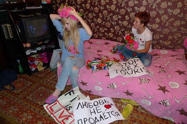 Femen, Protest or porn?