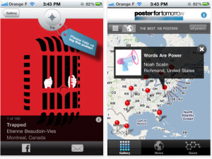 Poster for tomorrow launched its iPhone app