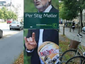 Election Poster Skate Attack