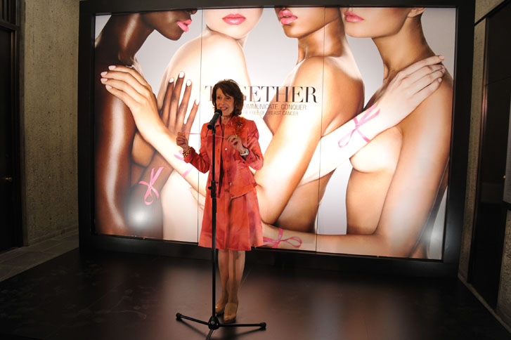 The Estee Lauder Companies' Breast Cancer Awareness Campaign US Press Event
