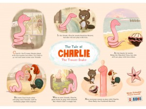 Charlie the Trouser Snake: a f*cking fable