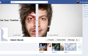 The ANTI-DRUG Facebook Timeline!