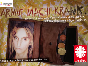 Armut macht krank – Poverty leads to ill
