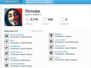 Occupy with Foursquare