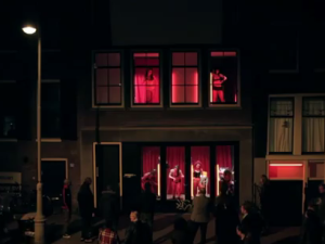 Flash Dance in the Red Light District