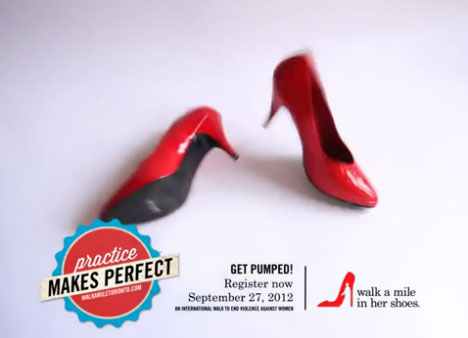 walk a mile in her shoes is an annual fundraiser
