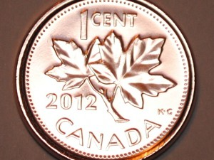 The last dying wish of the Canadian Penny & #showyourroll