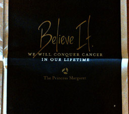 A billion dollar cancer challenge wants you to Believe It