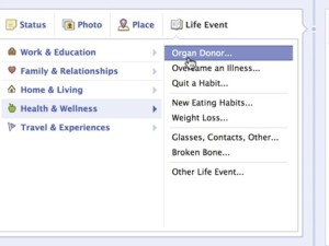 """Facebook asks for the ultimate """"share"""" in organ donor drive"""