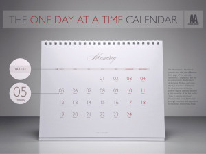 The One Day at a Time Calendar
