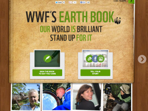 Storytelling for WWF and for saving the Earth