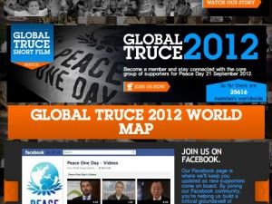 Peace One Day 2012: Global Truce