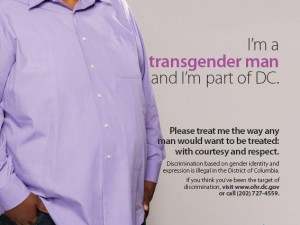 """""""I'm a transgender woman, and I'm part of DC"""""""