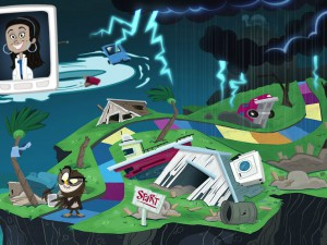 Interactive Online-Game Teaches Youth About Weather Safety #Sandy