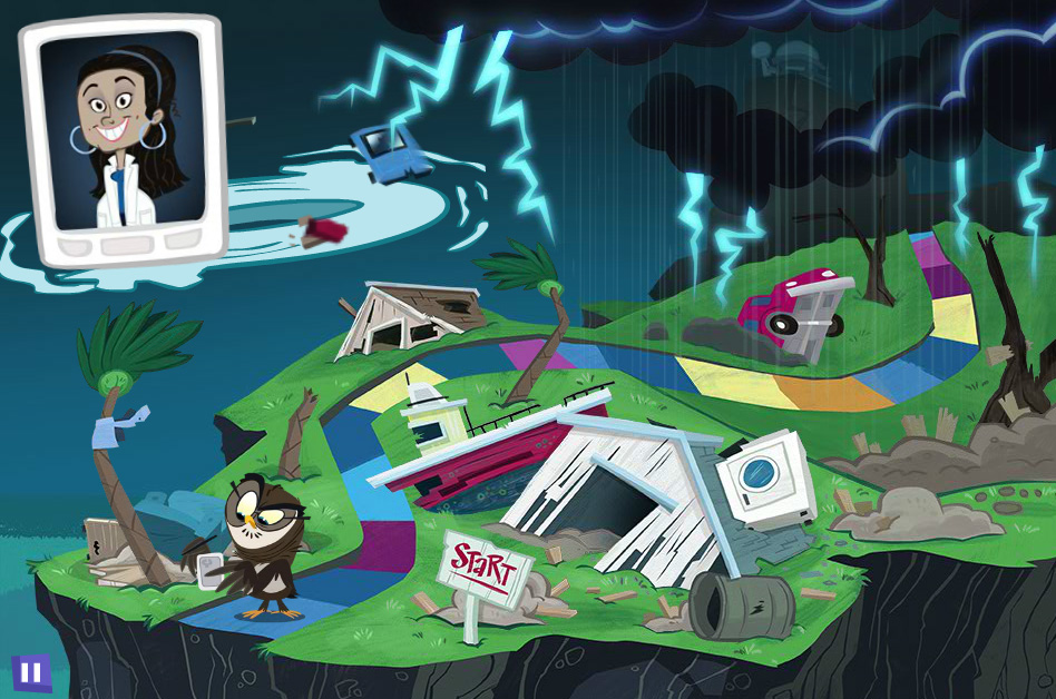Interactive Online-Game Teaches Youth About Weather Safety