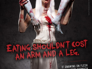 PETA thinks zombie cannibalism is a drag