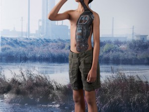 Water for Children: Body Painted Water Treatment