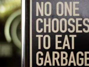 """No one chooses to eat garbage"", especially not college students"