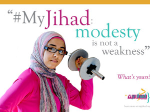 "American Muslims re-appropriate the word ""Jihad"" #myjihad"