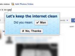 Cleaning up the Internet with alternatives to offensive words