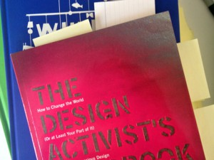 Another review for Noah Scalin and Michelle Taute's Design Activist's Handbook