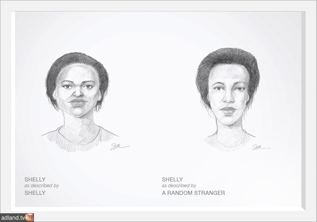Dove hires a sketch artist to show women how they see themselves - Osocio