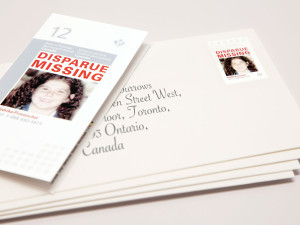 Help find missing kids each time you mail a letter