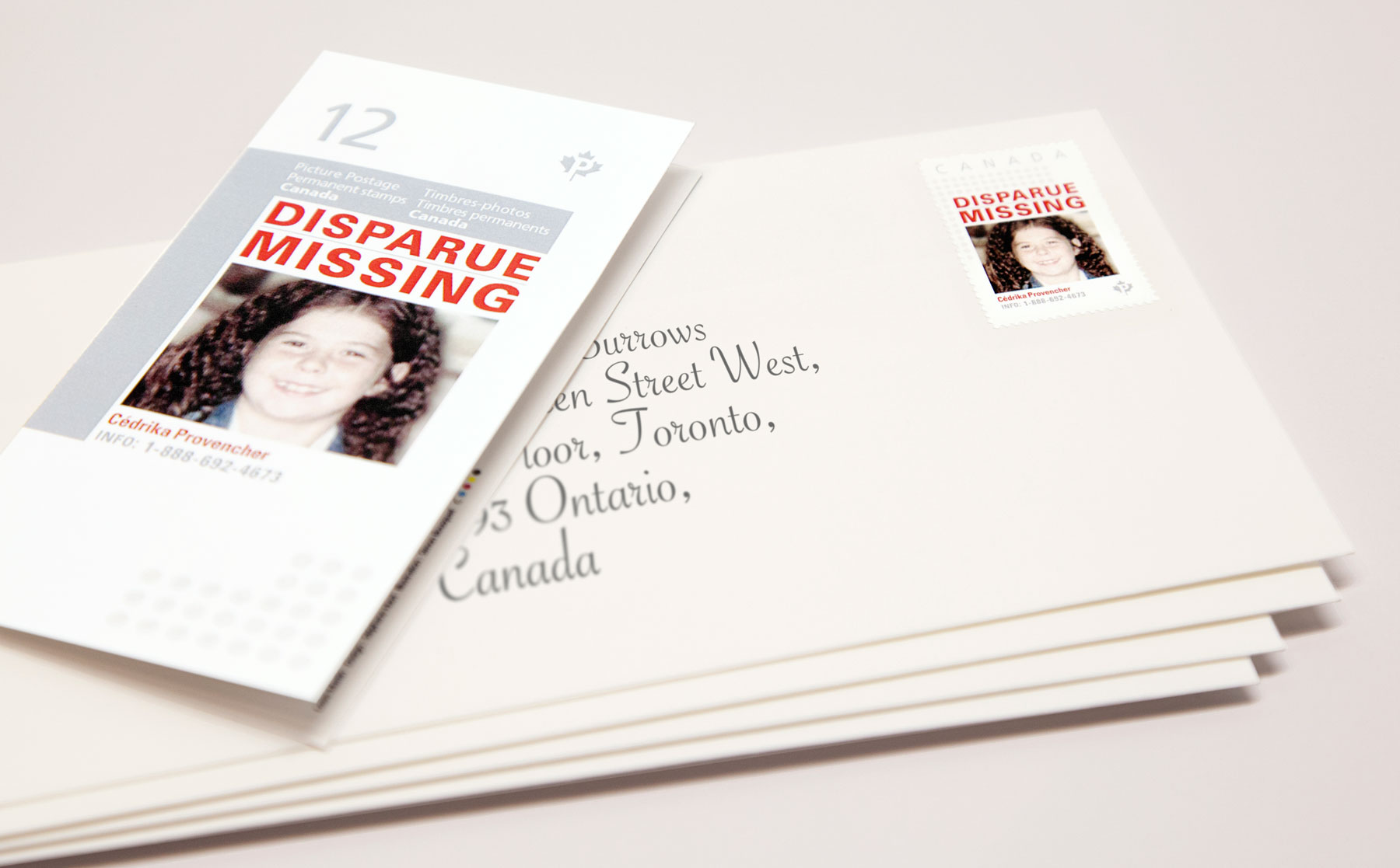 Help find missing kids each time you mail a letter Osocio