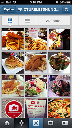 The Salvation Army of Canada and Bermuda: Finally, a good excuse to post food pics on Instagram! #PictureLessHunger