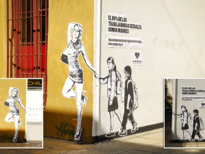 Street art for sex workers' rights in Argentina