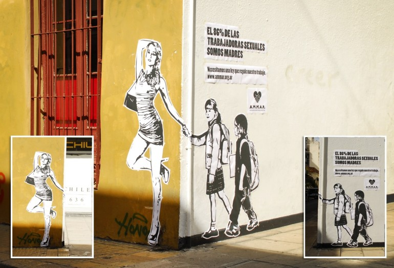 Ammar Argentina: Street art for sex workers' rights in Argentina