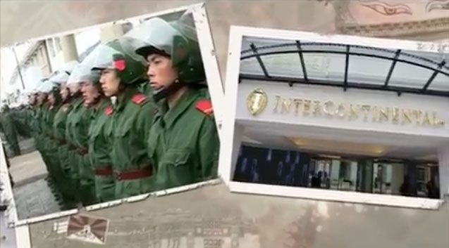 Free Tibet organisation: Intercontinental Lhasa Paradise - All Rooms Occupied