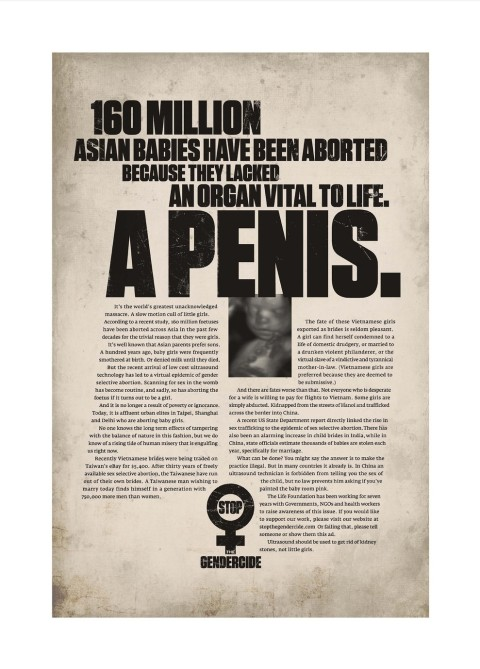 The Life Foundation Gendercide