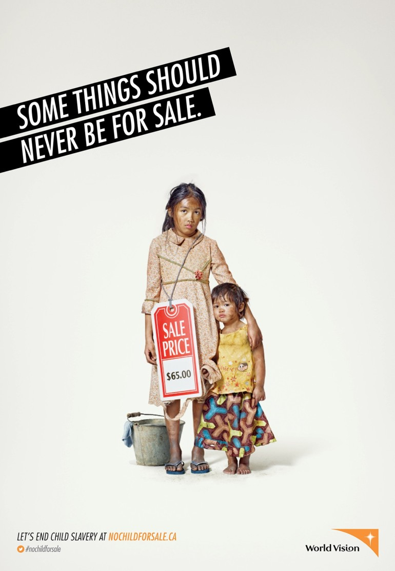 World Vision: Children for Sale: Old concept, but still an important issue